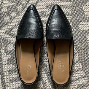 Franco Sarto Leather Mules